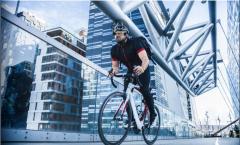 Gut gepackt mit dem Fahrrad unterwegs